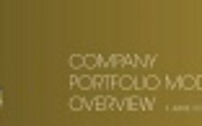 AUCTUS Company Portfolio Models Overview as of 1st June 2020